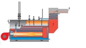 بخار چگونه تولید