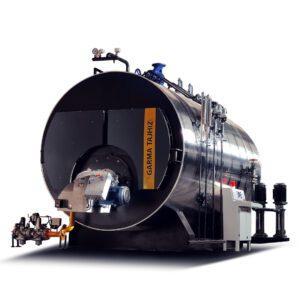 دیگ بخار 8000 kg
